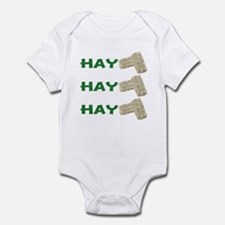Hay Hay Hay Infant Bodysuit