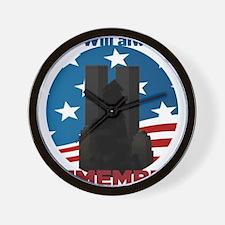 sept 11 - 2 Wall Clock
