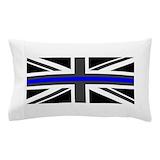 Thin blue line britain Pillow Cases