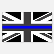 Police: British Flag & T Decal