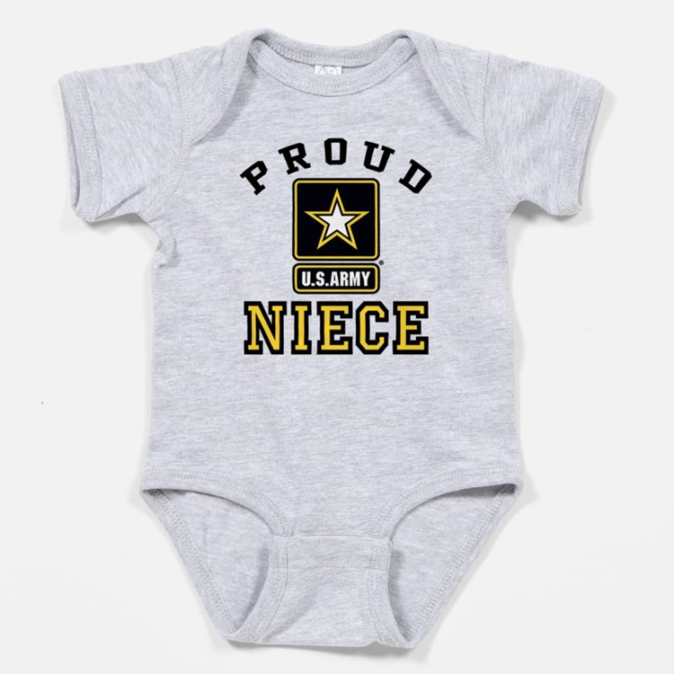 Cute U s army rangers Baby Bodysuit