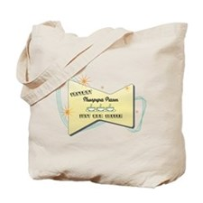 Instant Newspaper Person Tote Bag