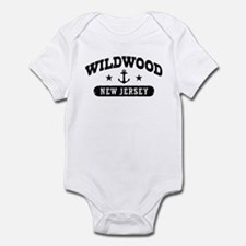Wildwood NJ Infant Bodysuit
