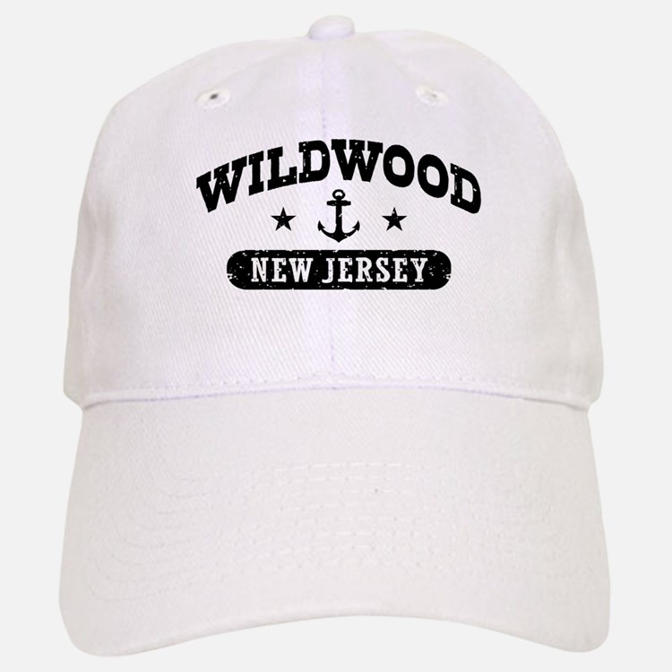 Wildwood NJ Baseball Baseball Cap
