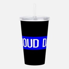 Police: Proud Dad (The Acrylic Double-wall Tumbler