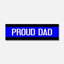 Police: Proud Dad (The Thin Blue Car Magnet 10 x 3