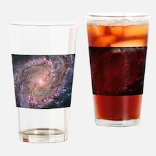 M83 the Southern Pinwheel Galaxy Drinking Glass