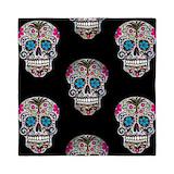 Sugar skull Queen Duvet Covers