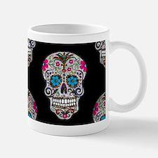 sequin Sugar Skulls Mugs