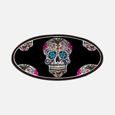 sequin Sugar Skulls Patch