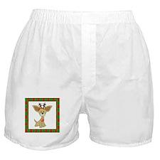 Chihuahua Christmas Boxer Shorts