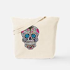 Cool Mexican sugar skulls Tote Bag