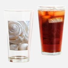 Pearl Spiral Seashell Sea Shells Drinking Glass