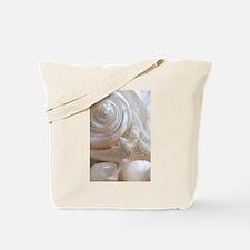 Pearl Spiral Seashell Sea Shells Tote Bag