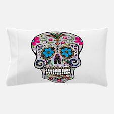 glitter Sugar Skull Pillow Case