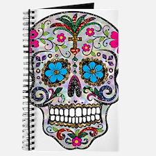 glitter Sugar Skull Journal