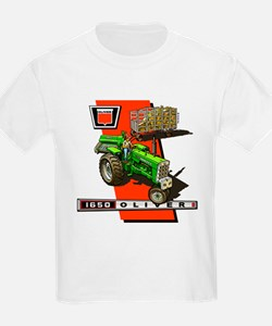 Oliver 1650 Tractor T-Shirt