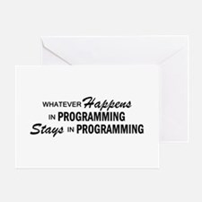 Whatever Happens - Programmin Greeting Cards