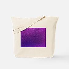 Purple Glitter Sparkle Background Tote Bag