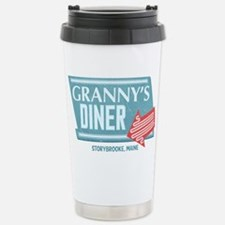 Granny's Diner Stainless Steel Travel Mug