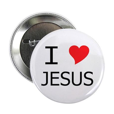 "I Heart Jesus 2.25"" Button"