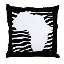 Afrika Throw Pillow