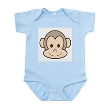 Monkey Face Infant Creeper