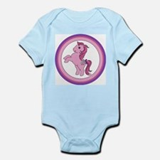 Cotton Candy Vintage Pony Body Suit