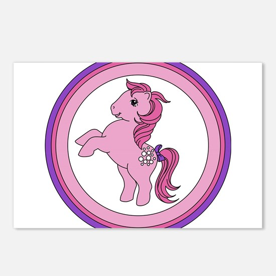 Cotton Candy Vintage Pony Postcards (Package of 8)