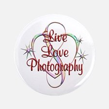 """Live Love Photography 3.5"""" Button (100 pack)"""
