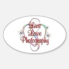 Live Love Photography Decal