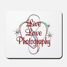 Live Love Photography Mousepad
