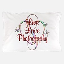 Live Love Photography Pillow Case