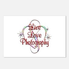 Live Love Photography Postcards (Package of 8)