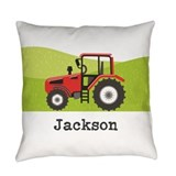 Tractor Burlap Pillows