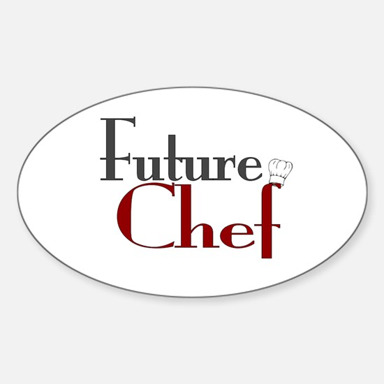 Future Chef Oval Decal