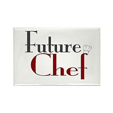 Future Chef Rectangle Magnet
