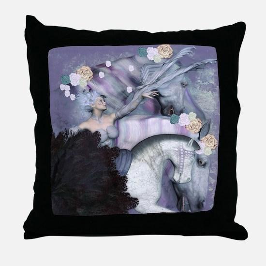 Cute Art nouveau Throw Pillow