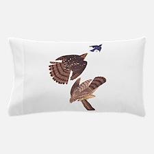 Cooper's Hawk Vintage Audubon Art Pillow Case