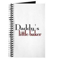 Daddy's Little Baker Journal