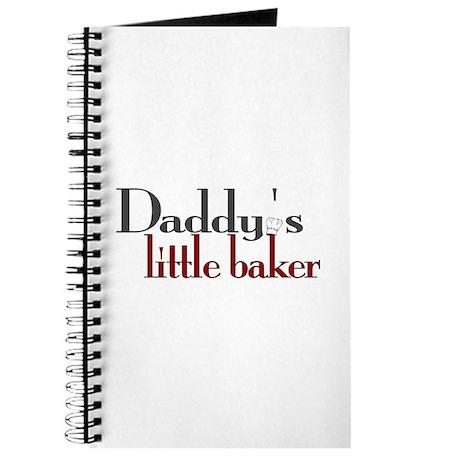 Daddy's Little Baker Journal