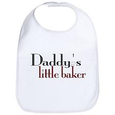 Daddy's Little Baker Bib