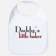 Daddy's Little Baker Bib