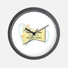 Instant Medical Records Person Wall Clock
