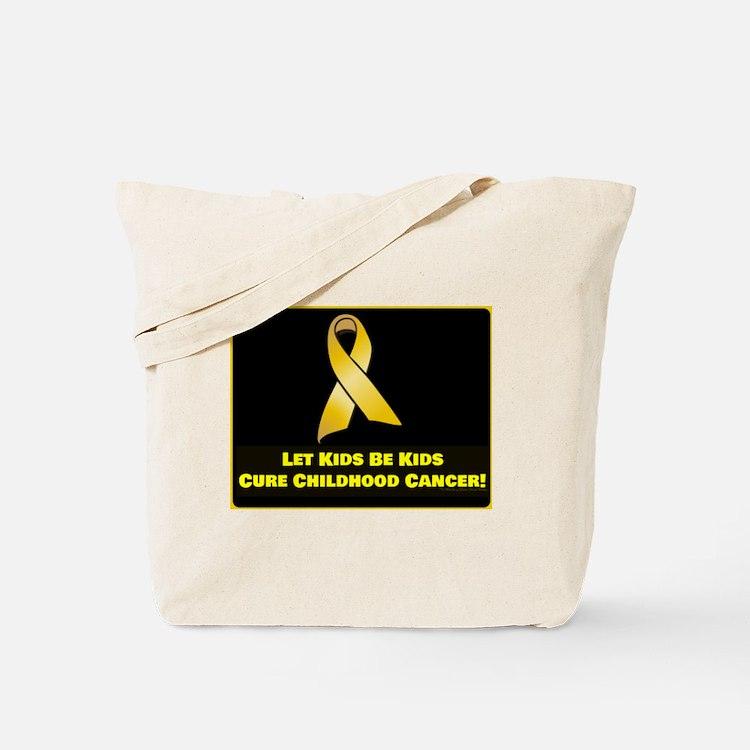 Cute Childrens cancer Tote Bag