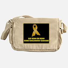 Cure Childhood Cancer! Messenger Bag