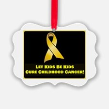 Cure Childhood Cancer! Ornament