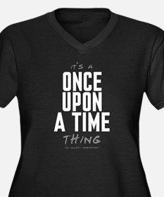 It's a Once Upon a Time Thing Women's Dark Plus Si