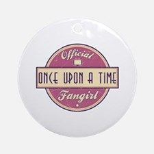 Official Once Upon a Time Fangirl Round Ornament