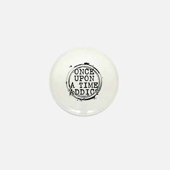 Once Upon a Time Addict Stamp Mini Button (10 pack